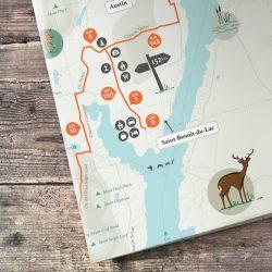 carte circuit Abbaye